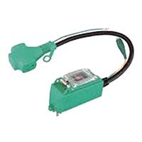 プラグインポッキンブレーカー 過負荷・漏電保護兼用