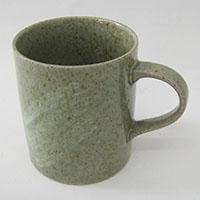 土物 軽量マグカップ(グリーン)