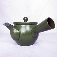 【数量限定】茶葉が捨てやすい急須 緑泥