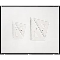 三角定規 目盛付 15cm No.13-121