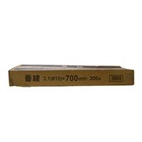<ケース販売用単品JAN>番線 3.1(#10)×700