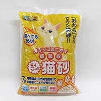 【ケース販売:6個入り】猫砂 ミィちゃんの猫砂 2穴タイプ 7L(1Lあたり 約71.2円)