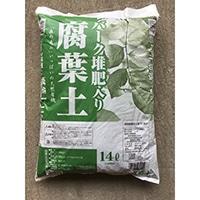【店舗取り置き限定】バーク堆肥入り 腐葉土 14L H