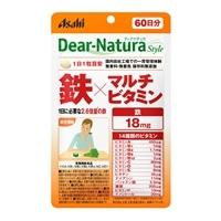 Asahi ディアナチュラ スタイル 鉄×マルチビタミン 60日