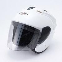 CW−802ジェットヘルメットパールホワイト