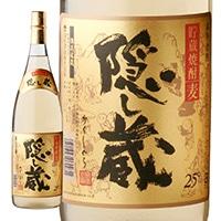 濱田酒造 隠し蔵 麦貯蔵 25度 1800ml【別送品】