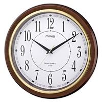 ノア精密 掛時計 モアマグ ブラウン W-648BR-Z
