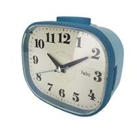 ノア精密 目覚まし時計 ラスク ブルー FEA171 BU-Z