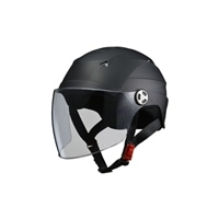 リード工業 RE-41 ハーフヘルメットハーフマットブラック
