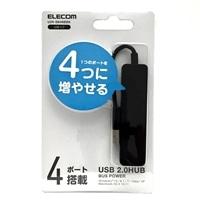エレコム USB2.0ハブ U2H-SN4NBBK