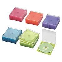CD/DVDスリムケース 50/5色