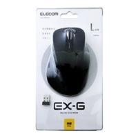 エレコム マウス M−XGL10DBBK