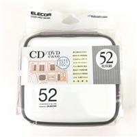 EL CD・DVDケース52枚 CCD−H52WH