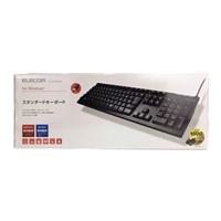 ELECOM スタンダードキーボード TK-FCM062BK