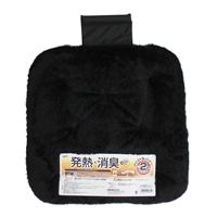 【2020秋冬】錦産業 ヒートアップシングルクッション ブラック AT-8691