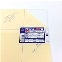 アクリルEX板001透明545x650x2ミリ