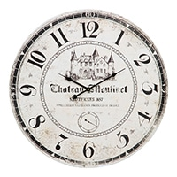 大型掛時計 アンティークO 60cm【別送品】