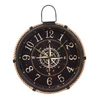 大型掛時計 コンパス 47cm【別送品】