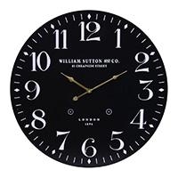 大型掛時計 LONDON BK 60cm【別送品】