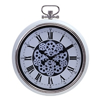 大型掛時計 ギア L CREAM 52cm【別送品】