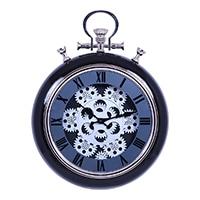 掛時計 ギア S BLACK 31cm【別送品】