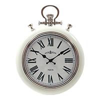 掛時計 レイル CREAM 31cm【別送品】