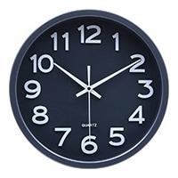 【trv】掛時計 スピカ 30cm ダークグレー