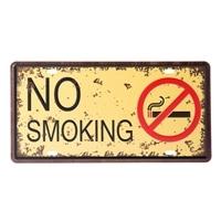 【数量限定・trv】プレート NO SMOKING