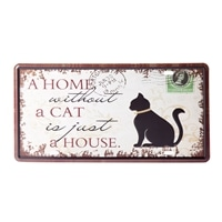【trv・数量限定】プレート A HOME A CAT