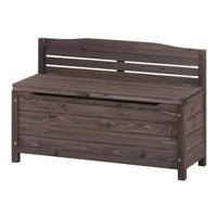 木製収納ベンチ