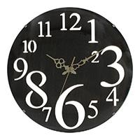 掛時計 レトロ BK 32cm【別送品】