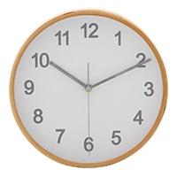 【trv・数量限定】プライウッド掛時計 ホワイト