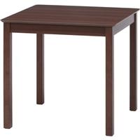 ダイニングテーブル モルト 75×75 ブラウン【別送品】