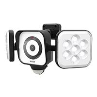 LEDセンサーライト防犯カメラ8W×2灯式