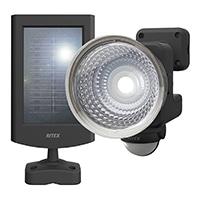 1.3W×1灯フリーアーム式ソーラーセンサーライト