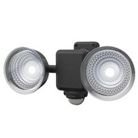 1.3W×2灯LED乾電池センサーライト