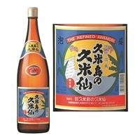 泡盛 久米島の久米仙 30度 1800ml 瓶【別送品】