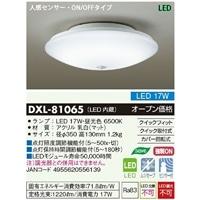 大光 LED 内玄関灯 センサー付 DXL-81065