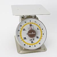 見やすい上皿自動秤30kg MYM-30