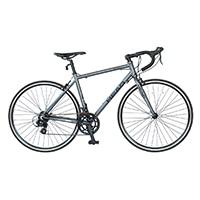 【自転車】【全国配送】HEADノーパンクロードバイク STORM 14段変速 マットチャコールグレー【別送品】