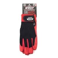 MWGT 合成皮革手袋(レッド) Mサイズ