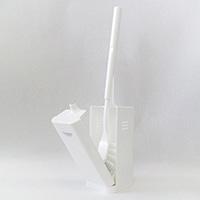 カワーク トイレブラシケース付き ホワイト