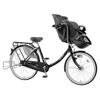 【自転車】《丸石》同乗器付き自転車 3人乗り対応 ふらっか〜ずスティーナ ブラック【別送品】