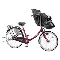 【自転車】《丸石》同乗器付き自転車 3人乗り対応 ふらっか〜ずスティーナ ルージュ【別送品】