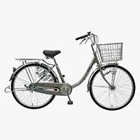 【自転車】【全国配送】≪丸石サイクル≫軽快車コンサイス内3-HD 24インチ シルバー【別送品】