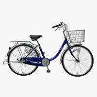 【自転車】【全国配送】≪丸石サイクル≫軽快車コンサイス内3-HD 24インチ ネイビー【別送品】