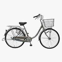 【自転車】【全国配送】≪丸石サイクル≫軽快車コンサイス内3-HD 26インチ シルバー【別送品】