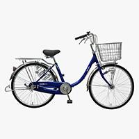 【自転車】【全国配送】≪丸石サイクル≫軽快車コンサイス内3-HD 26インチ ネイビー【別送品】
