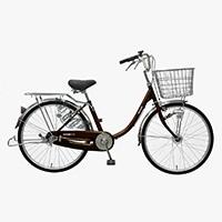 【自転車】【全国配送】≪丸石サイクル≫軽快車コンサイス内3-HD 26インチ ブラウン【別送品】