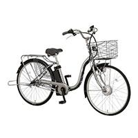 【自転車】《丸石サイクル》電動アシスト自転車 26インチ ビューアシスト ガンメタリックシルバー